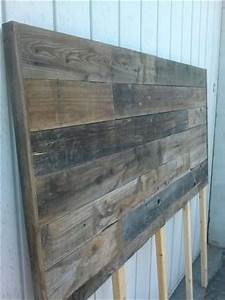beautiful barn wood headboard and it is on pinterest With antique barn wood for sale