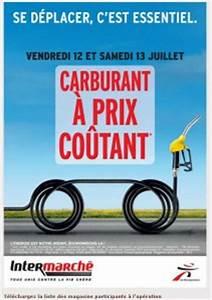 Essence à Prix Coûtant : essence diesel prix coutant chez intermarch les 12 et 13 juillet ~ Medecine-chirurgie-esthetiques.com Avis de Voitures