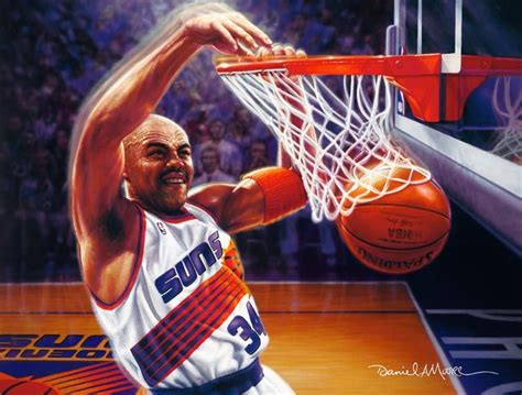 ►►► premium poster print ◄◄◄ • printed. Charles Barkley - Suns | Basketball & other sports | Pinterest | Basketball art, NBA and Nba players