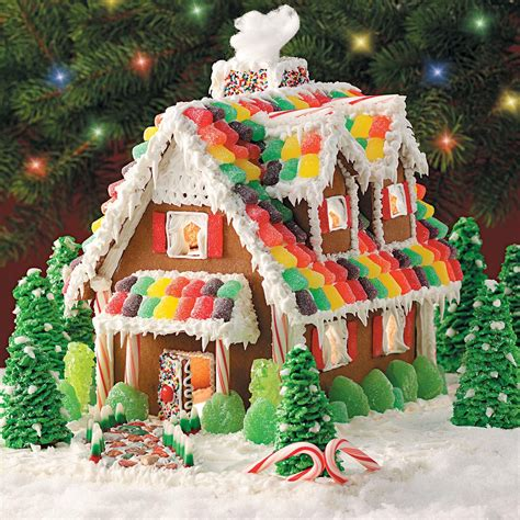 gingerbread house decorations gingerbread cottage recipe taste of home