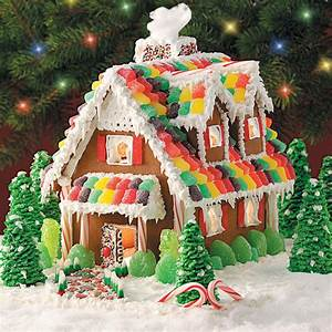 Gingerbread Christmas Cottage Recipe | Taste of Home