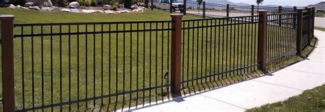 trex posts  ornamental fencing trex fencing  composite alternative  wood vinyl