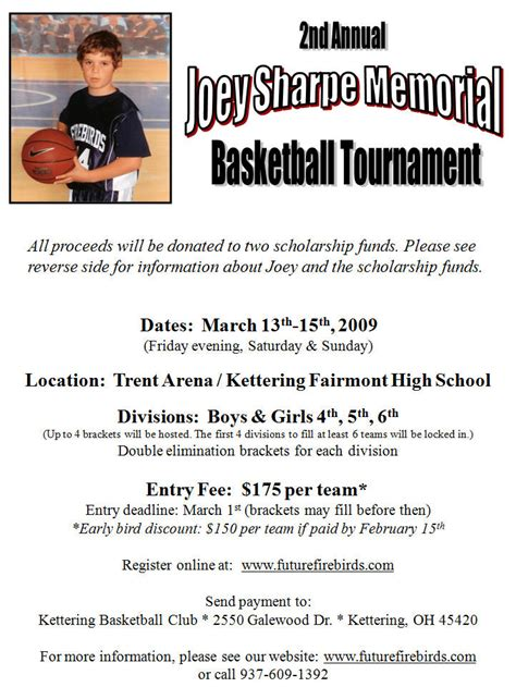 joey sharpe tournament