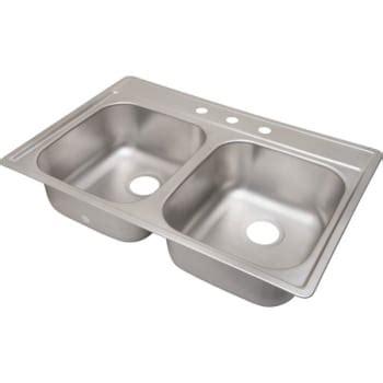 kitchen sink depths aspen 33 x 22 quot bowl stainless steel kitchen sink 3 2660