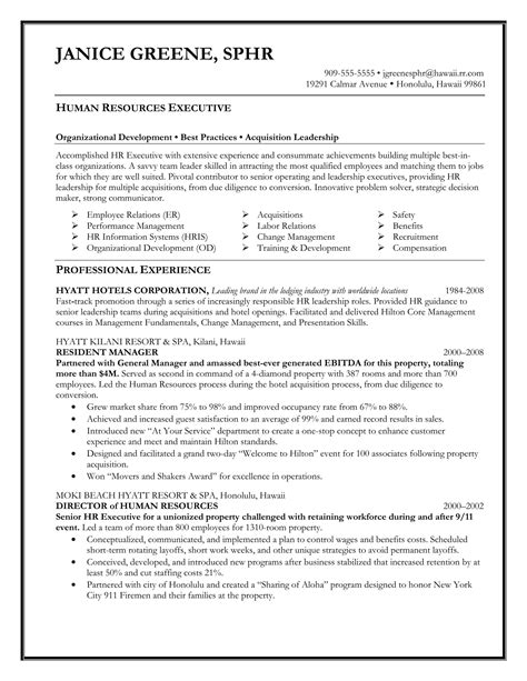 Executive Resumes Templates by 24 Best Sle Executive Resume Templates Wisestep