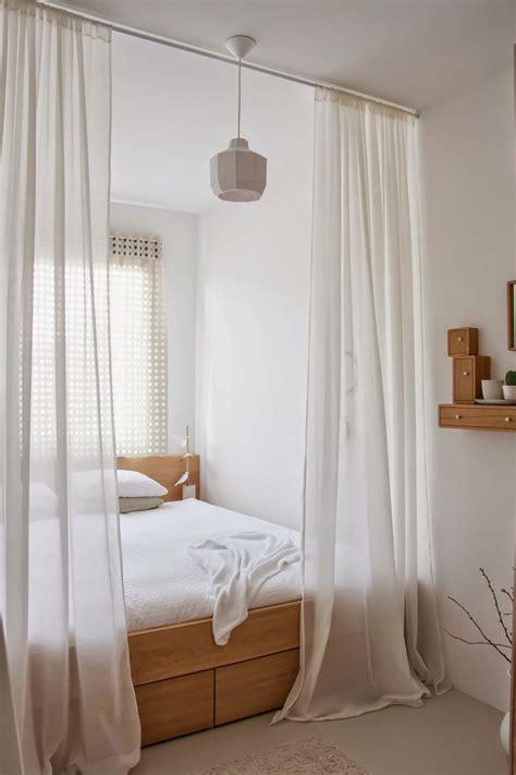 12 Idées De Rideaux De Lits Pour Une Chambre Intime Et