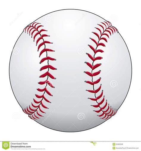 Baseball Stock Vector Illustration Of Sport, Stitches