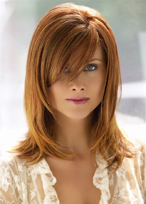 artistic medium length layered hairstyles