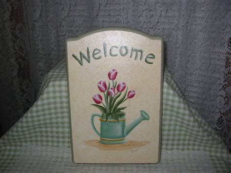 hand painted  signs  paulas cottage charm