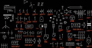 Electric Symbols Iram Norm DWG Block for AutoCAD • Designs CAD