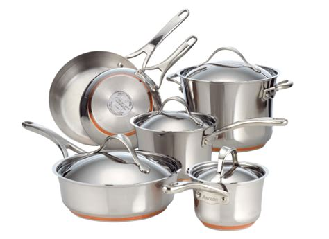anolon nouvelle copper stainless steel cookware consumer reports