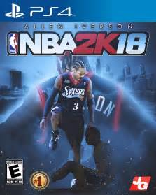 NBA 2K18 Cover Template