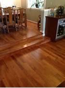 Hardwood Floors Sunken Living Room by A View From The Sunken Living Room Into The Dining Room Tom 39 S Flooring