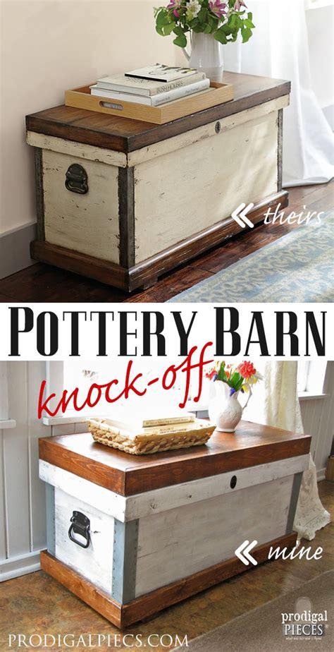 pottery barn knock pottery barn trunk knock themed makeover prodigal
