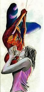 Spiderman Kiss by blondecrsity on DeviantArt