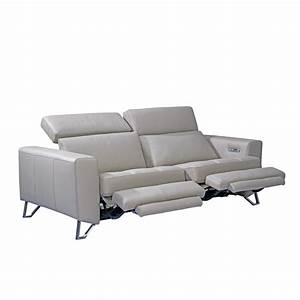 Aperto 3 seater recliner sofa beyond furniture for Sectional sofas with 3 recliners