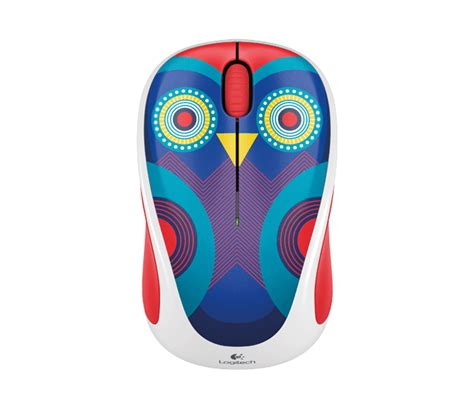 logitech m238 owl wireless mouse logitech colorful collection wireless mouse m238