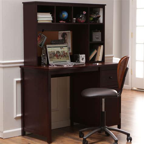 piper desk  optional hutch set espresso kids desks