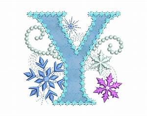 Ice Princess Applique Letter Y Frozen Cloth Decor Applique