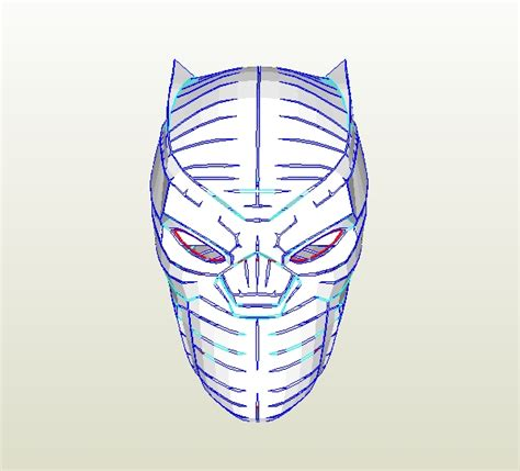 black panther mask template dali lomo how to make your own black panther helmet pdf template