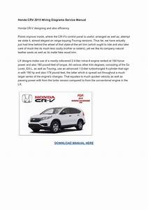 2015 Honda Cr V Owners Manual Pdf