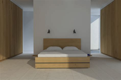 rendering oak interior furniture model dinesen