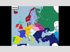 History of Europe 6013 years in 3 minutes YouTube