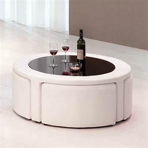 La table basse avec pouf pour un style de vie moderne for Meuble de cuisine design 16 la table basse avec pouf pour un style de vie moderne