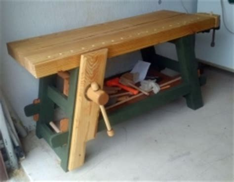homemade moravian workbench