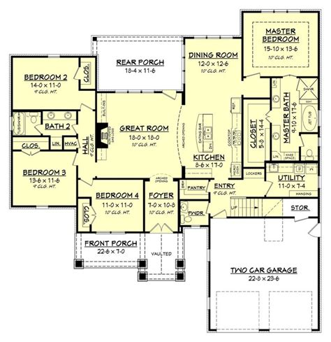 floor plans open concept 25 best ideas about open floor house plans on