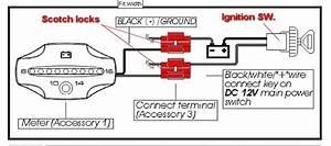 Koso Voltmeter Installation