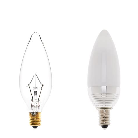 candelabra led bulb 3w cree xpe black decorative led