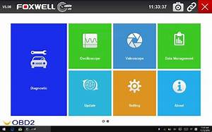 Foxwell Gt80 Mini User Manual  How To Connect Bluetooth