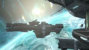 Orbit Halo Reach space station wallpaper | 1920x1080 ...
