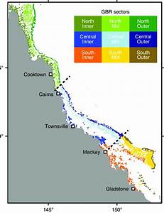 Dividing The Great Barrier Reef Into Geographical Sectors