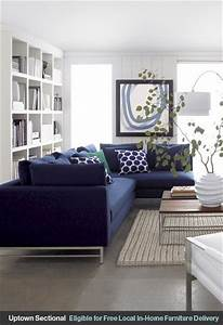 navy blue sectional sofa foter With small navy blue sectional sofa
