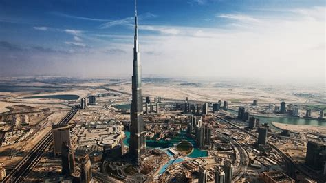 Burj Khalifa Top Floor Room by Burj Khalifa From Top Floor Wallpaper