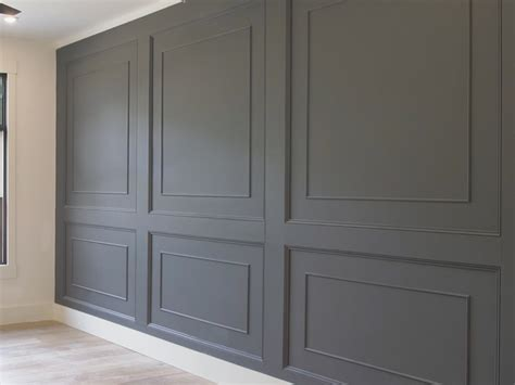 double raised panel feature wall rogue engineer