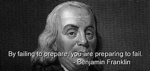 Famous Quotes A... Ben Franklin Memorable Quotes