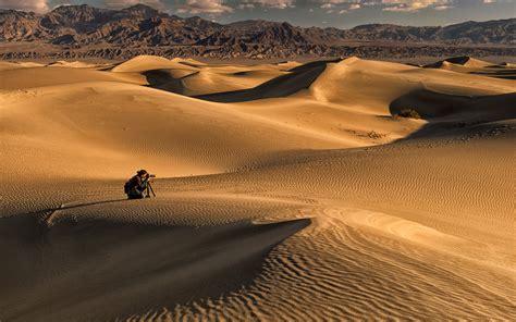 Photographer Desert Landscape Wallpapers Hd Desktop