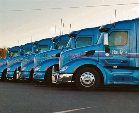 truck driving careers  caledonia haulers apply  today
