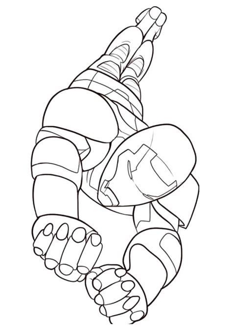 printable ironman coloring pages ironman coloring pictures  preschoolers kids