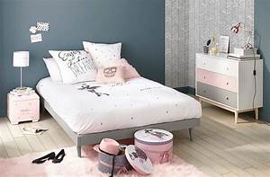 idee deco chambre fille blog deco pastel inspiration With chambre ado fille bleu