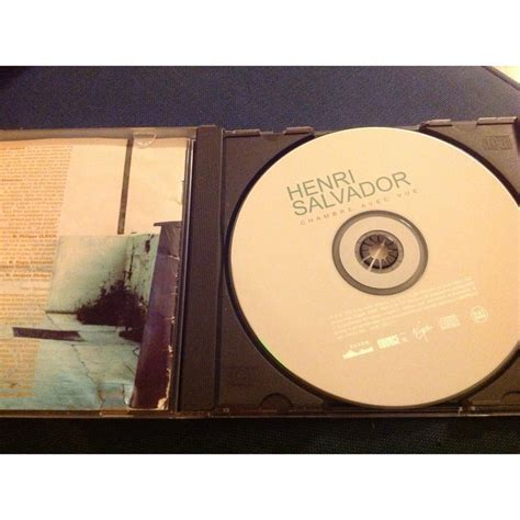 chambre avec vue salvador cd album henri salvador chambre avec vue de cd album henri
