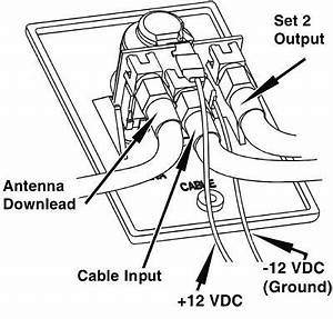 does winegard rv antenna need 12 battery hooked up to work With wiring tv on wall
