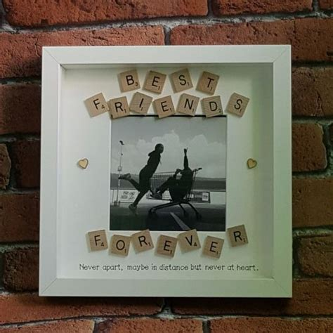 friends  picture frame handmade gifts