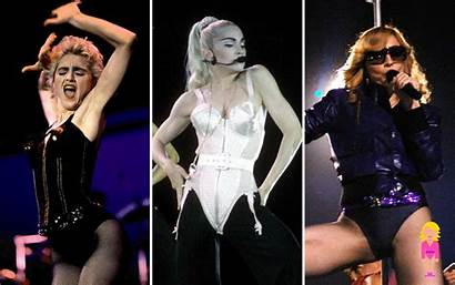 Madonna Looks Iconic Vogue