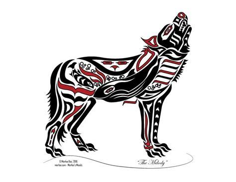 haida tlingit wolf native american art merlees