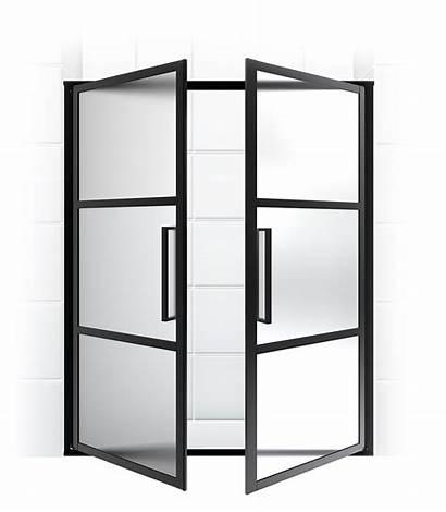 Doors Clipart Door Shower Hinge Transparent French