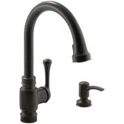 excellent kohler oil rubbed bronze kitchen faucet with
